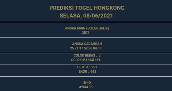 2 - PREDIKSI HONGKONG 08 JUNI 2021