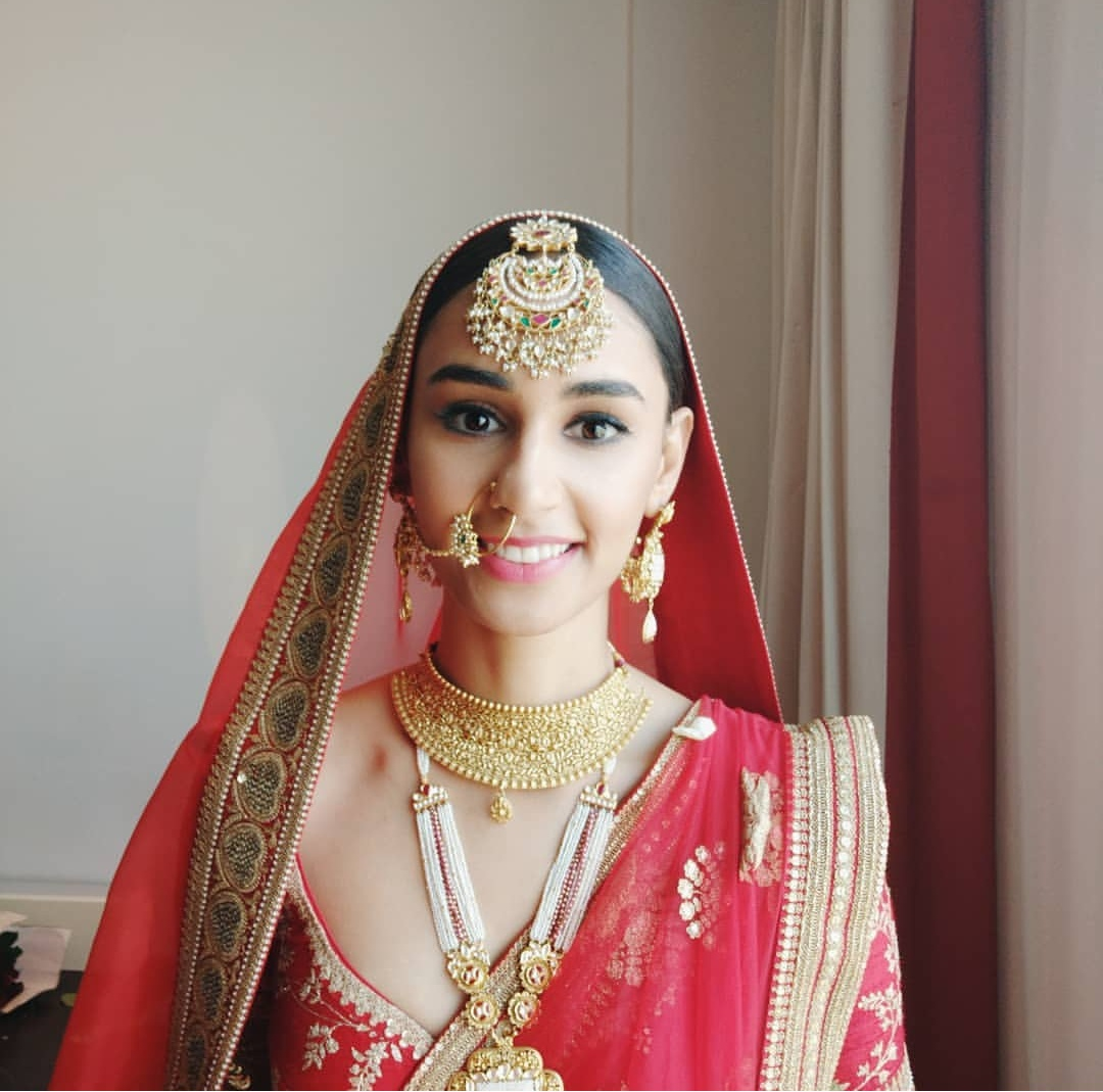 Former Miss India Hasleen Kaur Wedding Jewelry