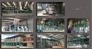 hongdefa maize mill machines
