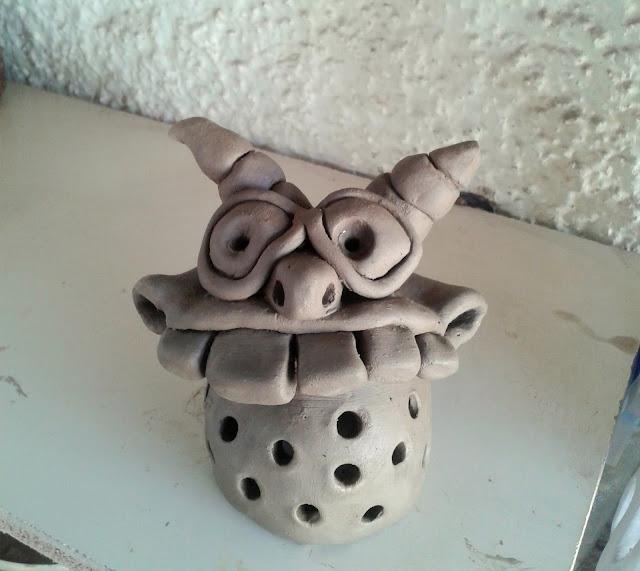 Pinch Pot Monster