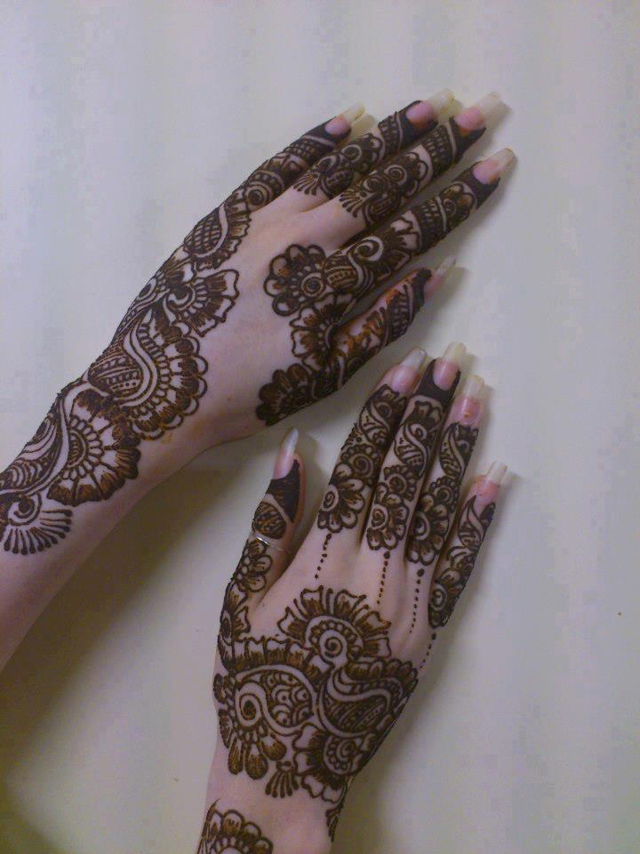 mehndi designs eid collection