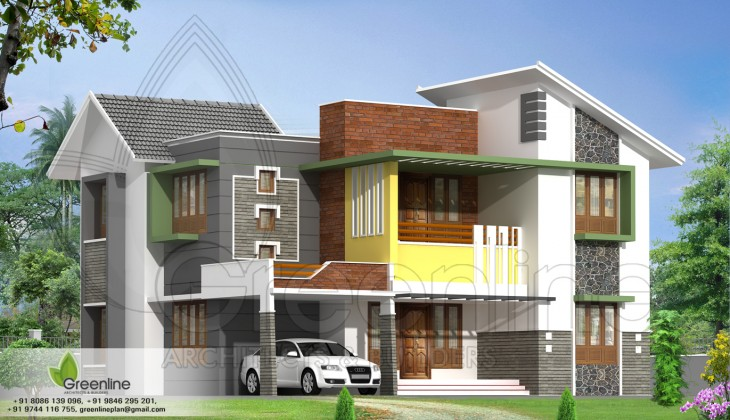... calicut | Indian Home design,Naksha Design,House Plan,Home plans