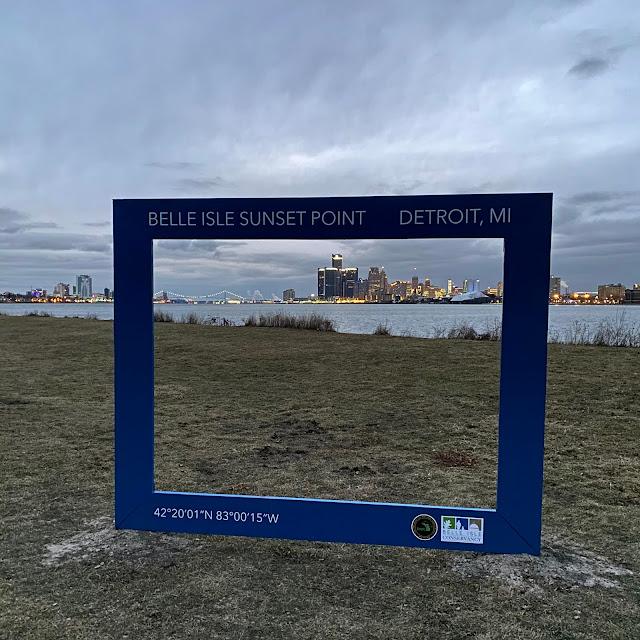 Sunset Point, Belle Isle, Detroit
