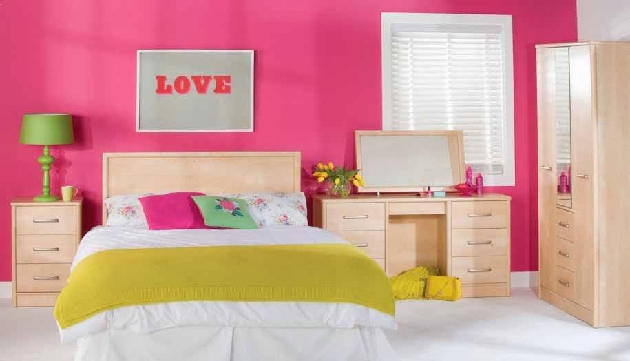 warna cat kamar tidur sempit