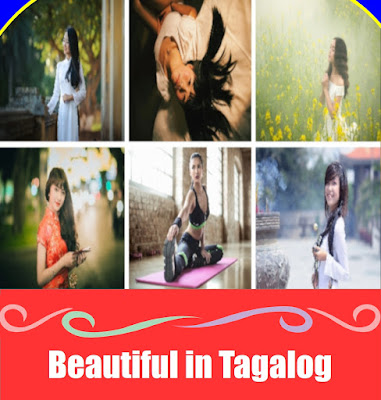 Beautiful in Tagalog