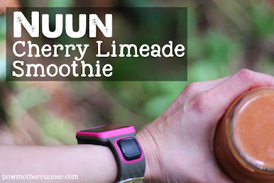 Nuun Cherry Limeade Smoothie Active Run Athlete Fitness Healthy