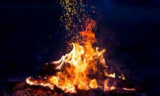 تفسير النار في حلم العزباء