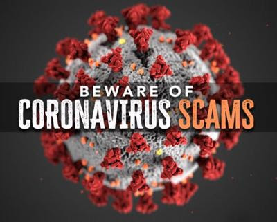 beware of COVID-19 scams