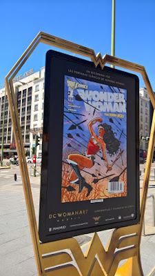 Exposición en Madrid de Wonder Woman