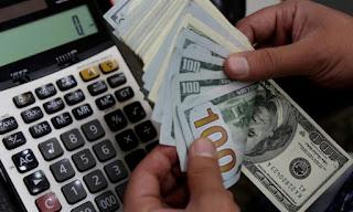 سعر صرف الليرة التركية  أمام العملات الرئيسية الاربعاء 15/1/2020
