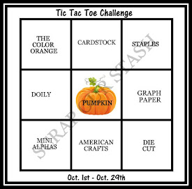 October Tic Tac Toe Stash Challenge