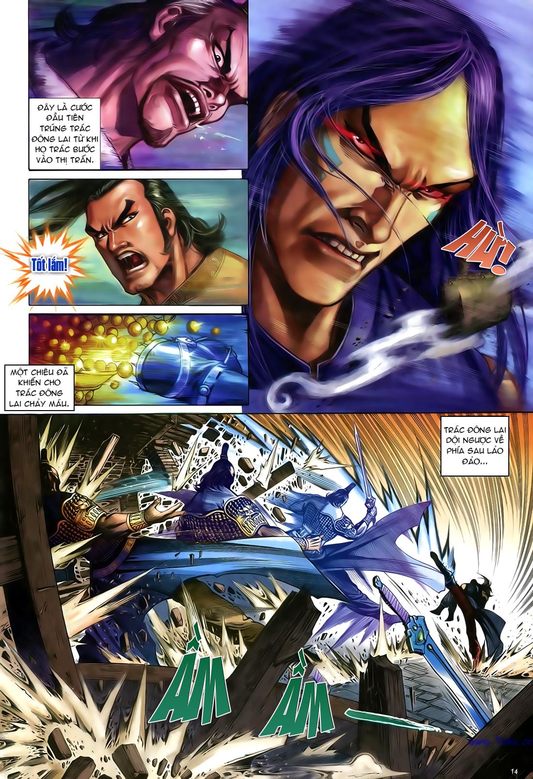 Anh hùng vô lệ Chap 23 trang 15