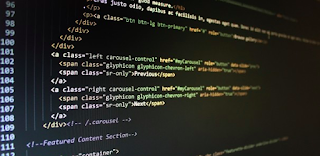 HTML Code of a website