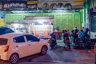 gerobak Lontong Khas Medan