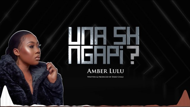 AUDIO | Amber Lulu - Unashingapi | Download