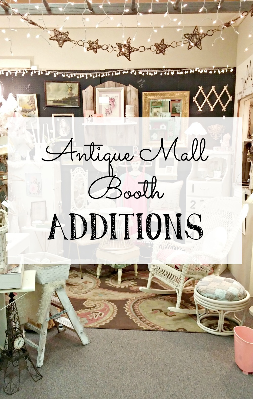 Antique Mall Booth Additions Little Vintage Cottage : booth6 from www.littlevintagecottage.com size 1000 x 1576 jpeg 429kB