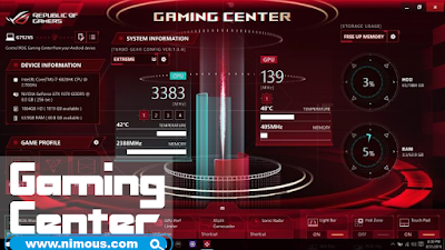 Gaming Center Asus ROG image