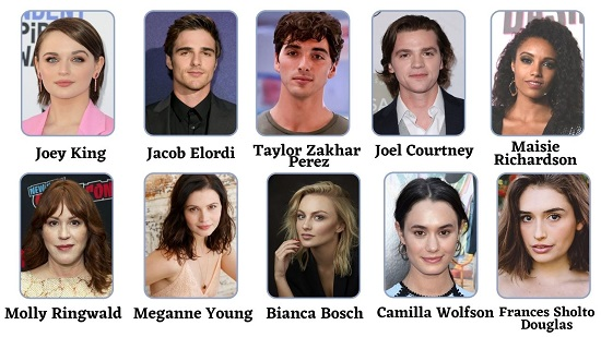 Kissing Booth 3 Cast 2021
