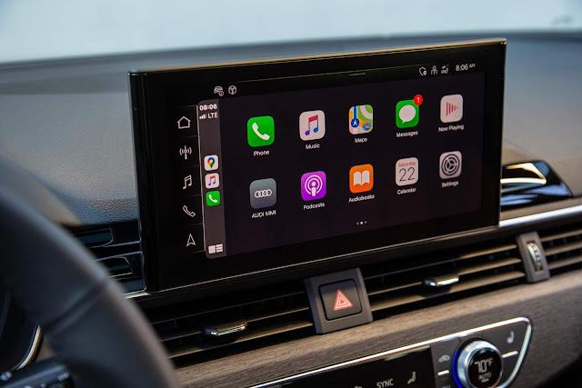 Novo Audi A4 2021 - interior