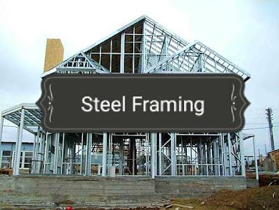 بناء منزل بهيكل معدني Steel Framing