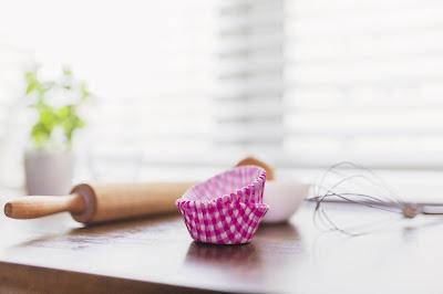 materiale per fare i muffin