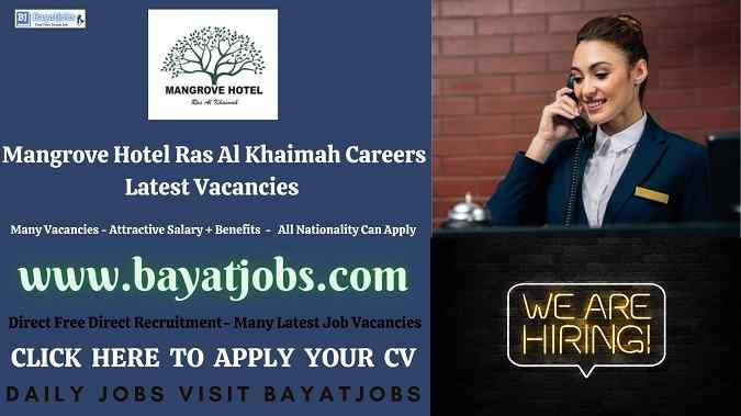 Mangrove Hotel Ras Al Khaimah Careers Latest Vacancies