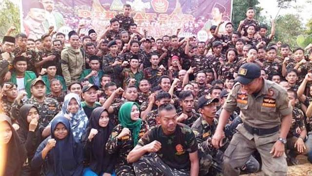 Digembleng Jadi Banser, 114 Pemuda Kota Sukabumi Siap Perkuat Aswaja dan NKRI