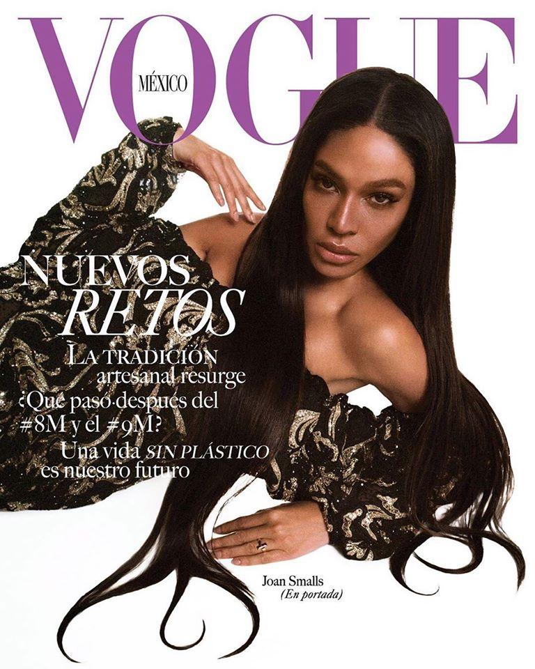 Joan Smalls & Bad Bunny for Vogue Mexico April 2020