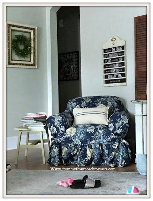 Living -room-Furniture & Decor- Slipcover-Ballad Bouquet-From My Front Porch To Yours
