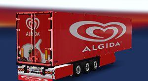 ALGIDA skin for Refrigerated Trailer