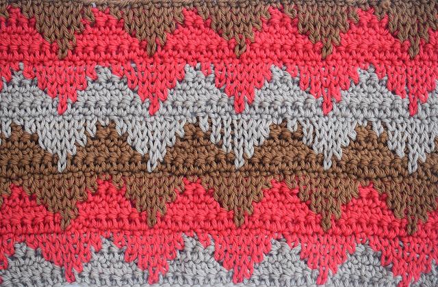1 - Crochet Imagen Puntada otoñal para mantas y cobijas a crochet Majovel Crochet ganchillo bareta videotutorial paso DIY sencillo