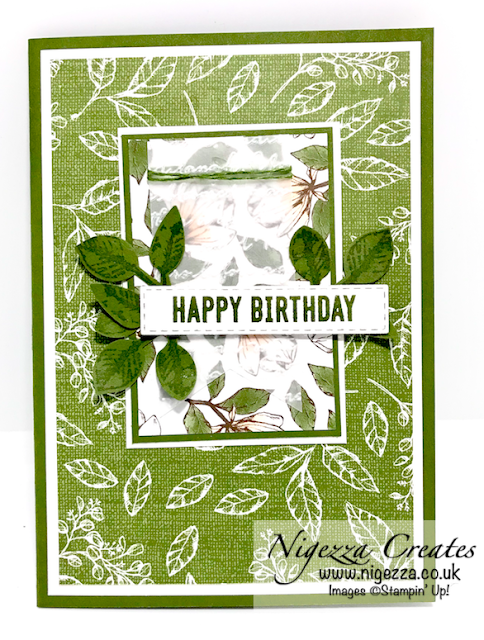 Nigezza Creates with Stampin' Up! Magnolia Lane