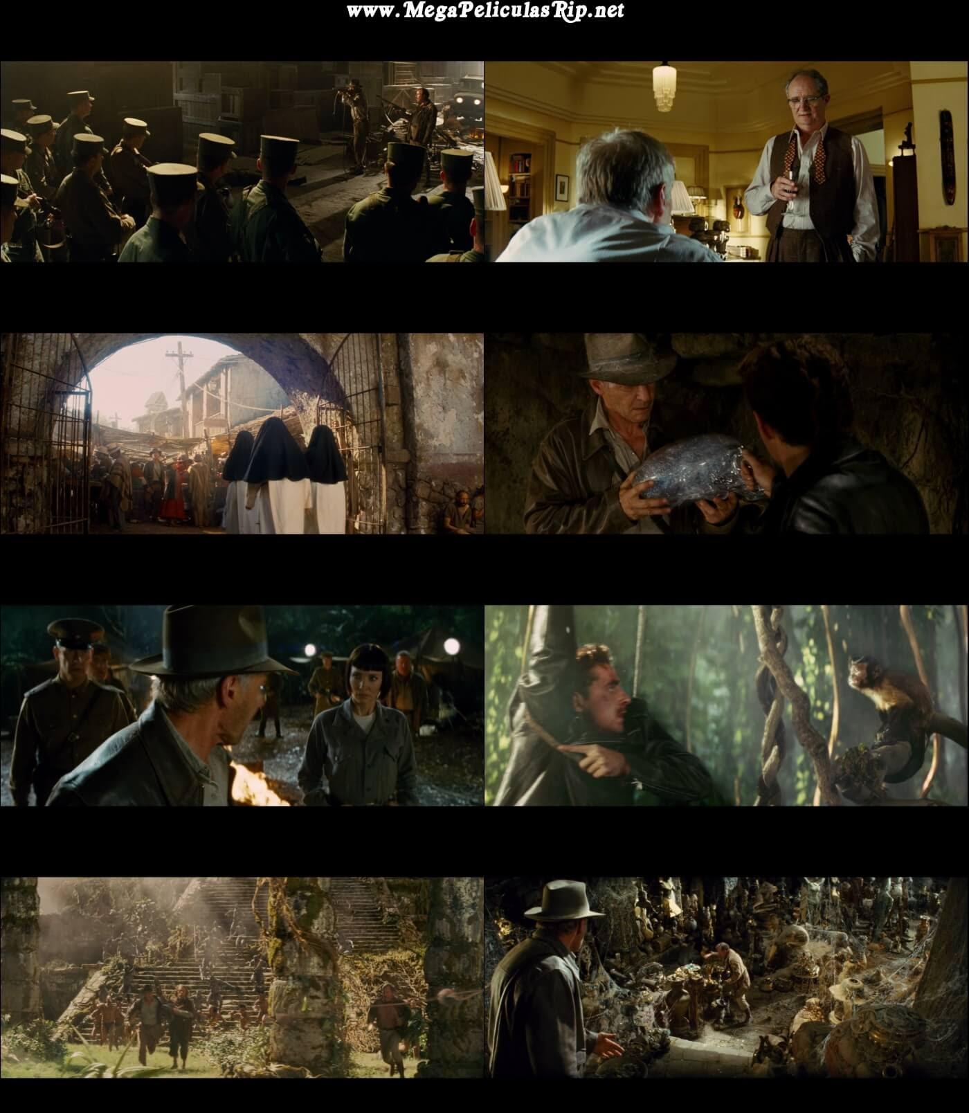 Indiana Jones y El Reino de la Calavera de Cristal 1080p Latino