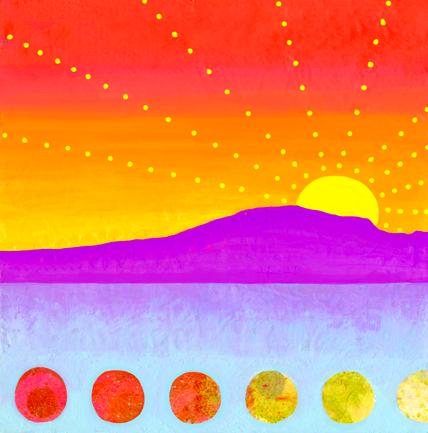China Carnella Arizona Sunset painting