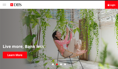 DBS – Live more, Bank less