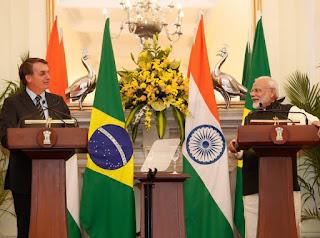 Em carta, Bolsonaro pede a primeiro-ministro da Índia que antecipe envio de 2 milhões de doses