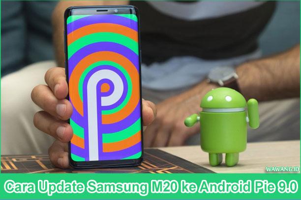 Cara Update Samsung M20 ke Android Pie 9.0