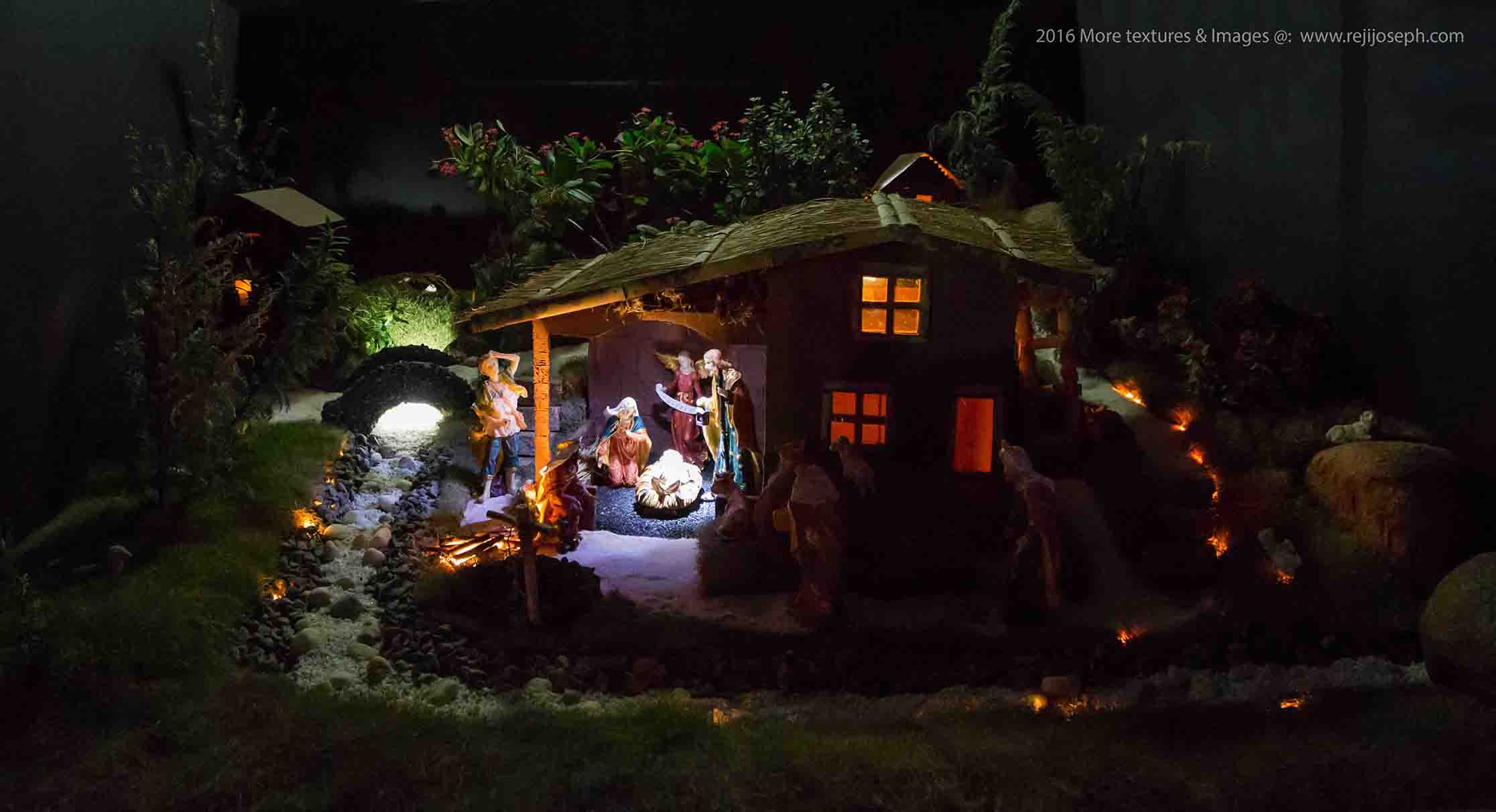 Christmas crib Pulkoodu St. George Forane Church Edappally 00007