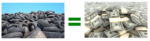 Cash 4 Less How To Make Money Recycling Old Tires