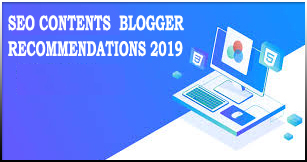 SEO Recommendations 2019 Blogger