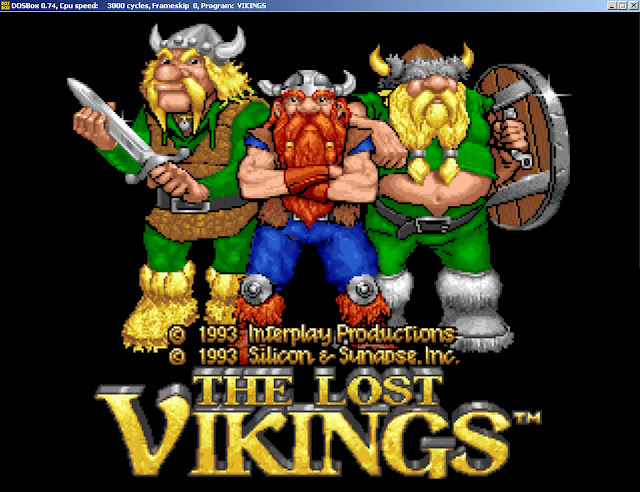 The Lost Vikings game main picture