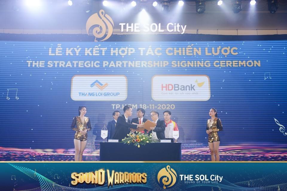 HDBank ký kết hơp tác cho vay tại THE SOL City