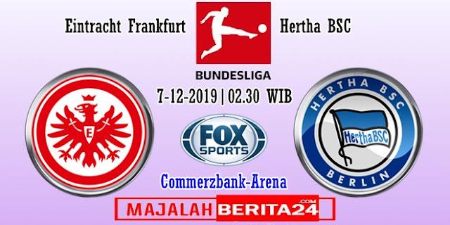 Prediksi Eintracht Frankfurt vs Hertha BSC — 3 Desember 2019