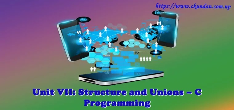 Structure and Unions – C Programming