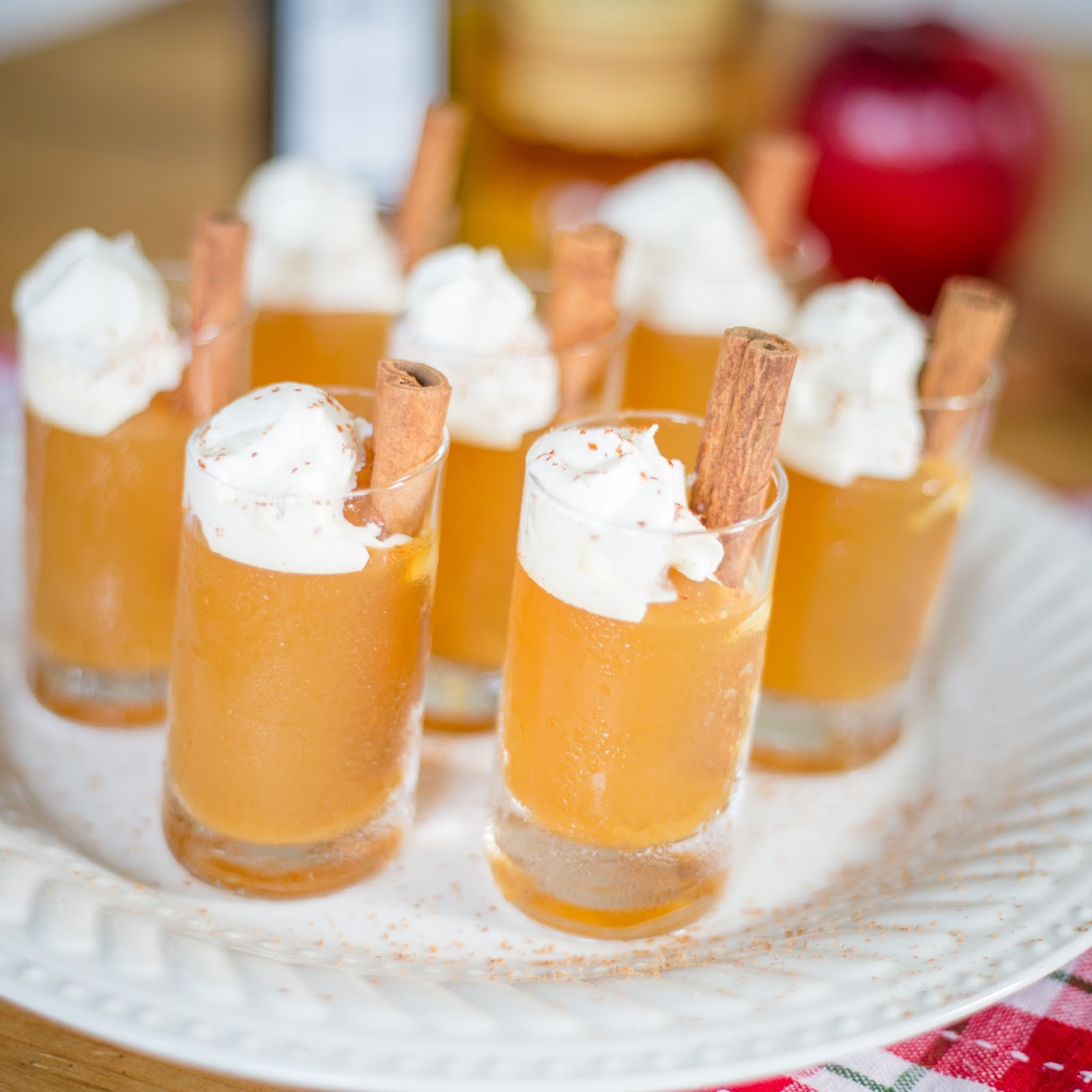 is for: Maple Bourbon Cider Jello Shots {& the NYCWFF}