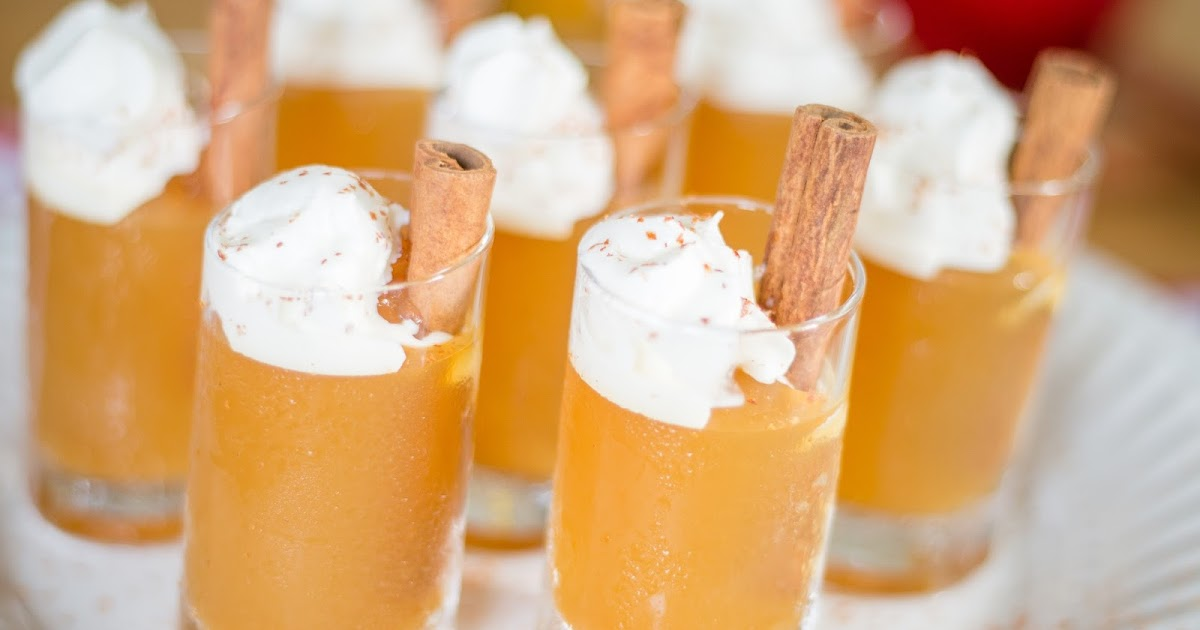 M is for: Maple Bourbon Cider Jello Shots {& the NYCWFF}