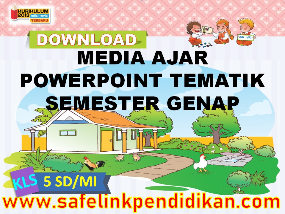 Media Ajar Powerpoint Tematik
