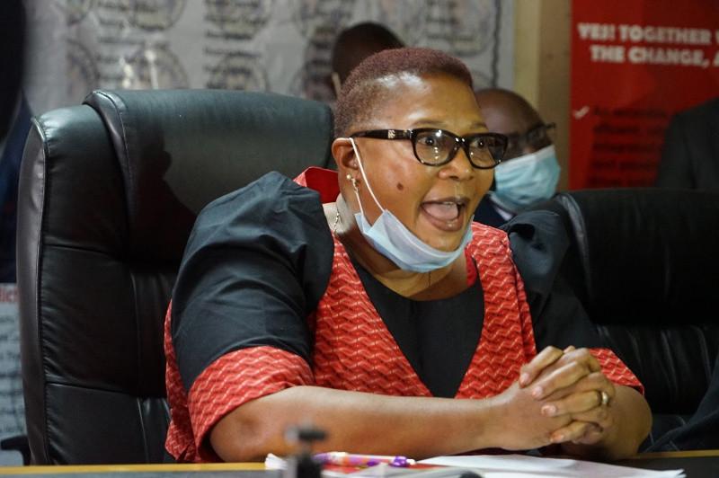 Thokozani Khupe Walks Out Of MDC-T Congress