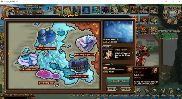 Map chứ báu 150 free