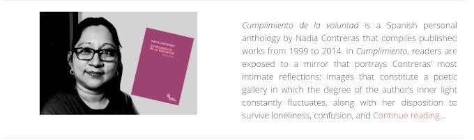 Eréndira Santillana reseña mi libro Cumplimiento de la voluntad